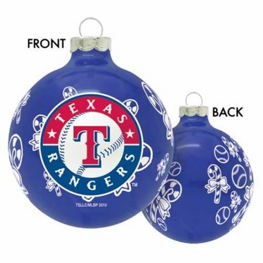 Texas Rangers 2010 Traditional Ornament