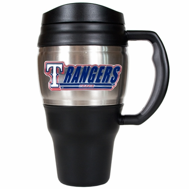 Texas Rangers 20oz Oversized Travel Mug