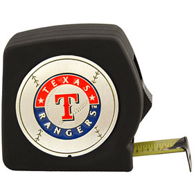 Texas Rangers 25 Foot Tape Measure