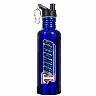 Texas Rangers 26oz Stainless Steel Water Bottle (Team Color)