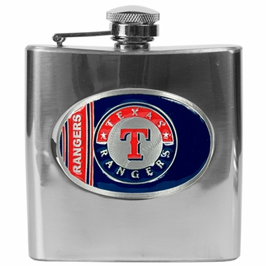 Texas Rangers 6 oz. Hip Flask