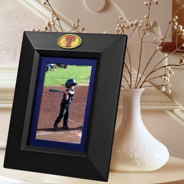 Texas Rangers BLACK Portrait Picture Frame