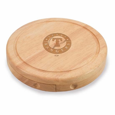 Texas Rangers Brie Cheese Board