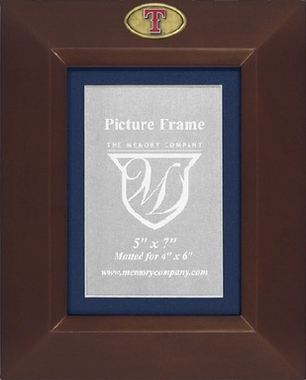 Texas Rangers BROWN Portrait Picture Frame