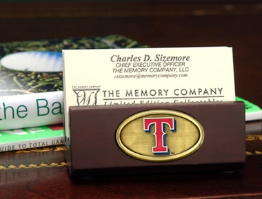 Texas Rangers Business Card Holder