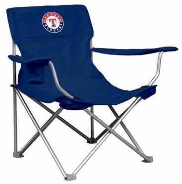 Texas Rangers Canvas Adult Folding Logo Chair