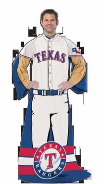 Texas Rangers Comfy Wrap (Uniform)