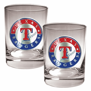 Texas Rangers Double Rocks Set