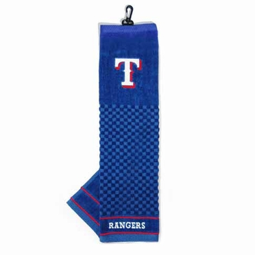 Texas Rangers Embroidered Golf Towel