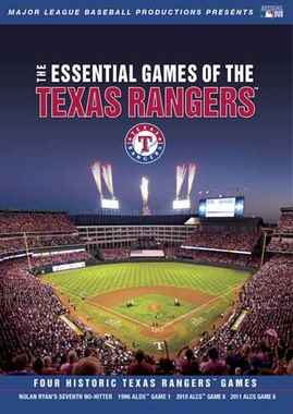 Texas Rangers Essential Games DVD