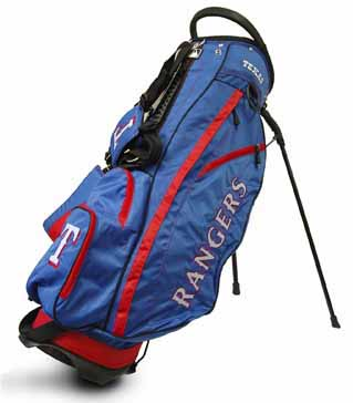 Texas Rangers Fairway Stand Bag