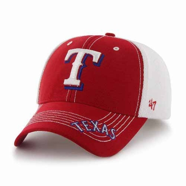 Texas Rangers Flux Structured Adjustable Mesh Hat
