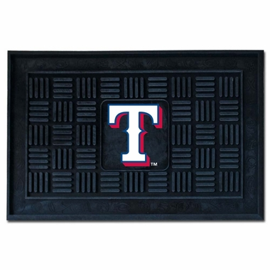 Texas Rangers Heavy Duty Vinyl Doormat