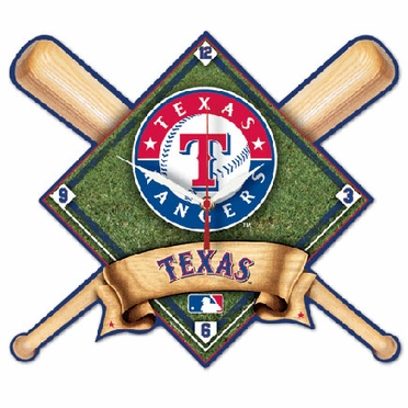 Texas Rangers High Definition Wall Clock