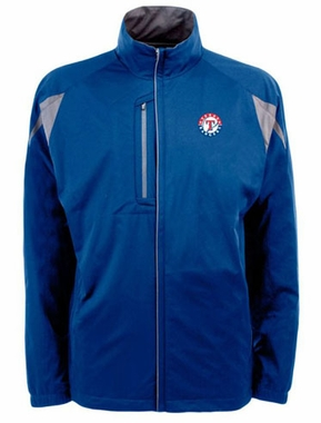 Texas Rangers Mens Highland Water Resistant Jacket (Team Color: Royal)