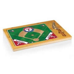 Texas Rangers Icon 3 Piece Cheese Set