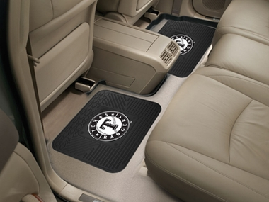 Texas Rangers SET OF 2 Heavy Duty Vinyl Rear Car Mats