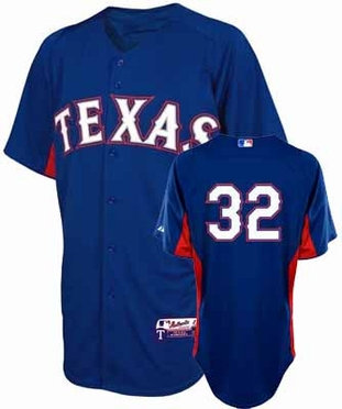 Texas Rangers Josh Hamlton YOUTH Batting Practice Jersey