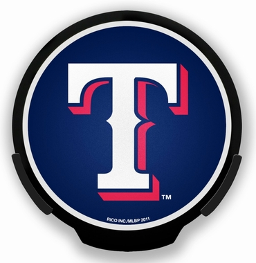 Texas Rangers Light Up Power Decal