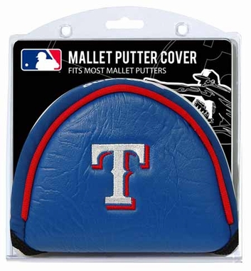 Texas Rangers Mallet Putter Cover