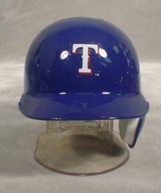 Texas Rangers Mini Batting Helmet
