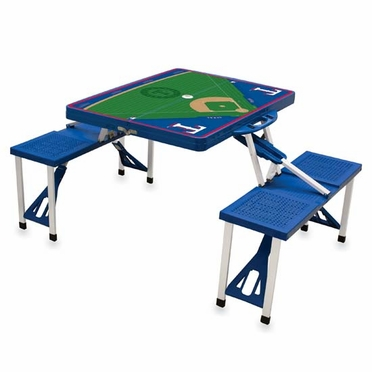 Texas Rangers Picnic Table Sport (Blue)
