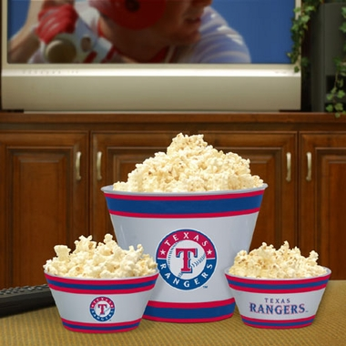 Texas Rangers Plastic Serving Set