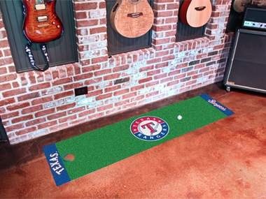 Texas Rangers Putting Green Mat