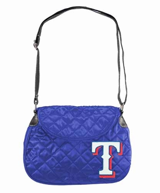 Texas Rangers Quilted Saddlebag