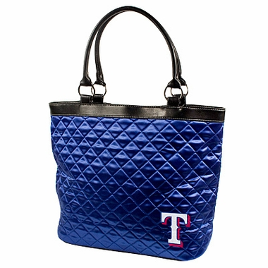 Texas Rangers Quilted Tote