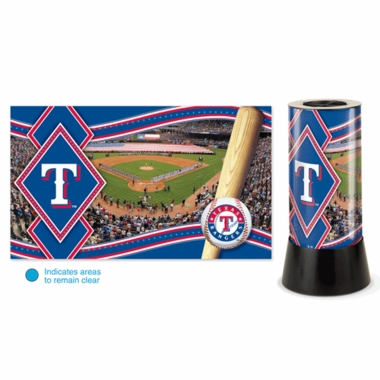 Texas Rangers Rotating Lamp