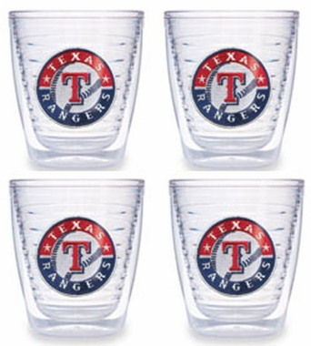 Texas Rangers Set of FOUR 12 oz. Tervis Tumblers