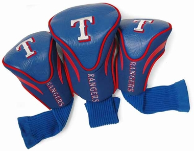 Texas Rangers Set of Three Contour Headcovers