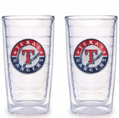 Texas Rangers Set of TWO 16 oz. Tervis Tumblers