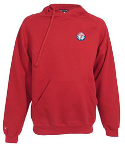 Texas Rangers Mens Signature Hooded Sweatshirt (Team Color: Navy) - XXX-Large