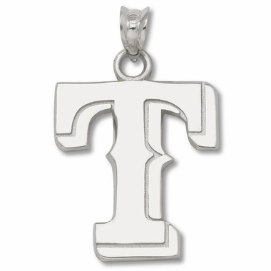 Texas Rangers Sterling Silver Pendant