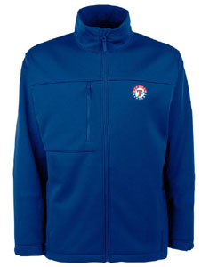 Texas Rangers Mens Traverse Jacket (Color: Royal) - Large
