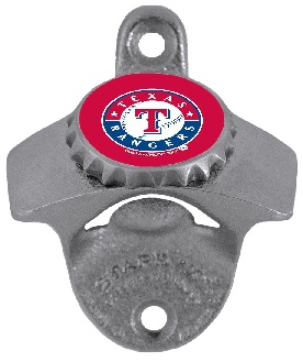 Texas Rangers Wall Mount Bottle Opener