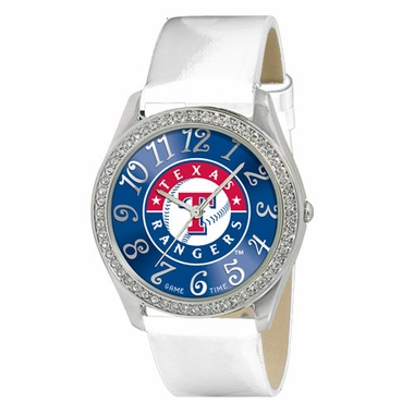 Texas Rangers Women's Glitz Watch