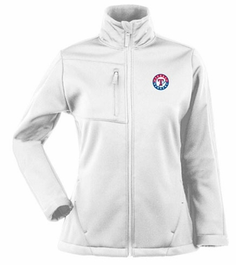 Texas Rangers Womens Traverse Jacket (Color: White)