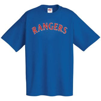 Texas Rangers Wordmark T-Shirt