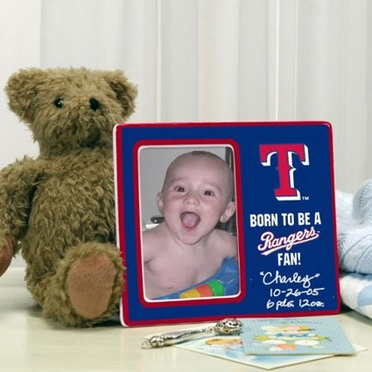 Texas Rangers Youth Picture Frame