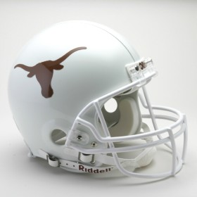 Texas Riddell Full Size Authentic Helmet
