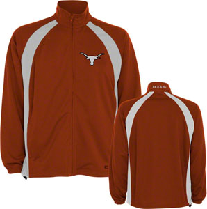 Texas Rival Full Zip Lightweight Jacket - Large