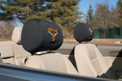 Texas Set of 2 Headrest Covers