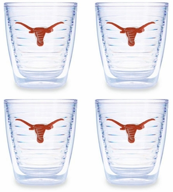 Texas Set of FOUR 12 oz. Tervis Tumblers