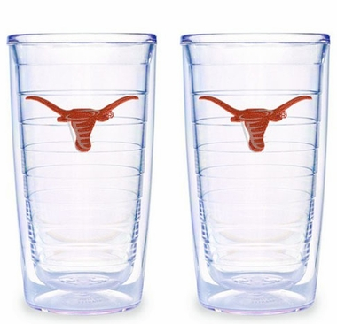 Texas Set of TWO 16 oz. Tervis Tumblers