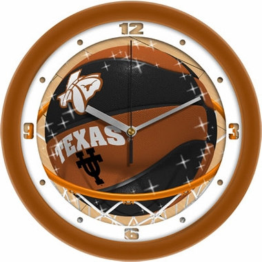 Texas Slam Dunk Wall Clock