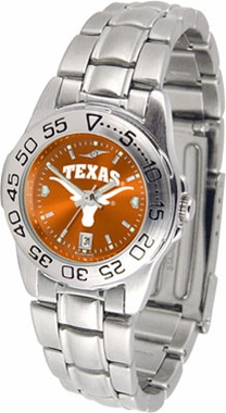 Texas Sport Anonized Women's Steel Band Watch