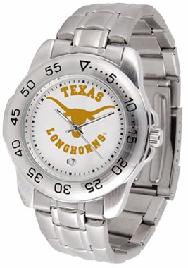 Texas Sport Men's Steel Band Watch